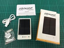 Solarpod Solar Portable Power Bank Pocket Size Charge Camping RRP£25 Emergency