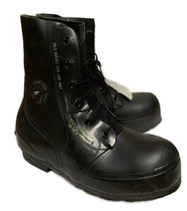 US Military BATA Bunny Boots Waterproof Extreme Cold Weather w Valve Black NEW