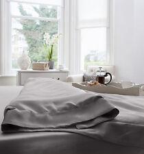 Jasmine Silk 100% 19 MM Charmeuse Silk Duvet Cover (Grey) Super King