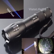 2500 Lumen Zoomable Focus CREE XML T6 LED HighPower Flashlight Torch Lamp 5 Mode