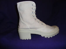 LADIES girls canvas ankle boots, similar sold in top stores sizes 3,4,5,6,7,