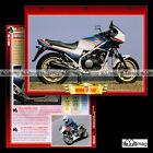 #059.02 Fiche Moto HONDA VF 750 F Modèle 1982 Sport Bike Motorcycle Card