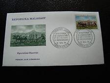 MADAGASCAR - enveloppe 15/11/72 - operation charrue  - yt n° 512 - (cy6) (A)