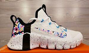 Women's Nike Free Metcon 3 White Black Pink Blue Training CJ6314 104 Pick Size