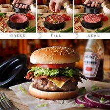 3 in 1 Stuffed Gourmet BBQ Burger Press Hamburger Patty Maker Slider 50pk Papers