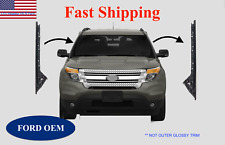 11-19 Ford Explorer Windshield Inner Trim Pillar Molding Passenger & Driver Side