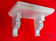 s48 Beautifully Crafted Oak Shelf   Solid Oak Shelf with Supported Oak Brackets