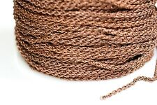 15ft 2mm Red Copper Rope Chain 1-3 day Ship
