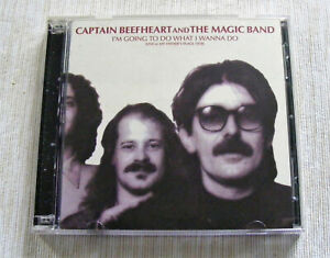 CAPTAIN BEEFHEART & MAGIC BAND I'M GOING TO DO WHAT I WANNA DO 2CD NR MINT COND.