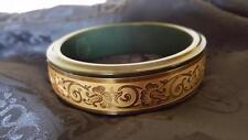 "RARE Antique French Marlowe ""Parisienne"" Combo Bracelet Compact Bakelite"