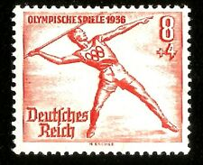 1936 Nazi Germany Olympic Games Berlin Javelin Spear Throw Sport Mint Stamp