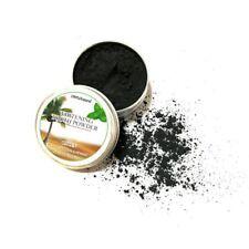 Poudre de Charbon de Noix de Coco pour Blanchiment des Dents 100% Naturel et Bio