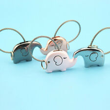 Romantic Couple Key Chain Cute Elephant Model Key Ring Pendant Decoration Yeah