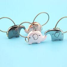 Romantic Couple Key Chain Cute Elephant Model Key Ring Pendant Decoration Yeah