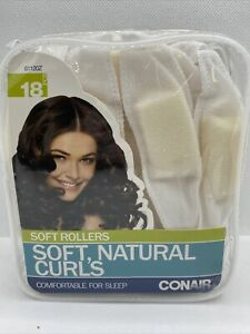 Conair Styling 18 Pillow Soft Rollers Curlers Comfy in Sleep Free Shipping