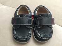 Boys Leather Shoes See Kai Run Size 4 Blue Red Soft comfortable