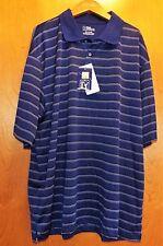 Pga Tour Golf moistuire wicking s/s polo shirt Sz Xxl BluePrint Nwts