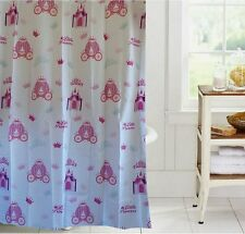 Girly pink shower curtain new free shipping