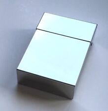 Ash Cigarette Case Holder Polished Stainless Steel Sprung