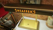 "Antique Sheaffer's ""Pen"" Desk Lamp"
