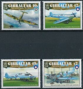 [1155] Gibraltar 2011 Aviation good Set very fine MNH Stamps