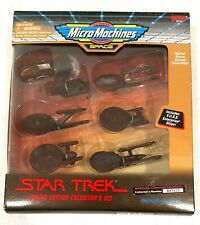 Star Trek Micro Machines Limited Bronze Collector's Set by Galoob No.007275
