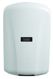 Excel Hand Dryer ThinAir TA-ABS 110-120V White Polymer