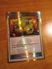 SECRET RARE Pokemon ENERGY SWITCH Card ROARING SKIES Set 109/108 XY X Y Trainer