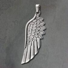 SD amello alas Colgante de Collar Decoración Acero Inoxidable ángel eshs51j