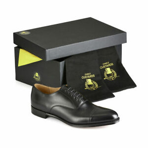 New Joseph Cheaney Mens Shoes Oxford Cap by Charlie Custards UK 9 US 10 EU 43 F