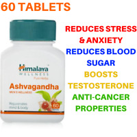 Himalaya Ashwagandha Herbal For Stress Health Care & Wellness Pure Herb