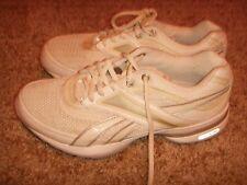 Reebok Easy Tone Smoothfit White Silver Walking Womens Size 6