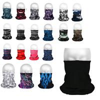 Multifunktionstuch Schlauchschal Halstuch Mundschutz Bandana  - viele Modelle -
