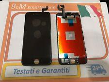 TOUCH SCREEN LCD DISPLAY RETINA CON FRAME PER APPLE IPHONE 6S VETRO NERO BLACK