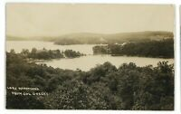 RPPC Colonel Green's View LAKE HOPATCONG NJ New Jersey Real Photo Postcard