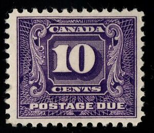 J10 Postage Due Canada mint well centered  cv $160