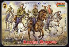 Strelets Models 1/72 World War I Russian Dragoons Mounted Figure Set