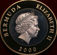Uncirculated Proof 2000 Bermuda $1 Silver Foreign Coin