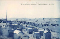 CPA 44 - La BERNERIE - Plage et Baigneurs - Les Tentes