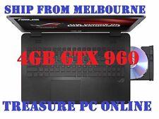 "Asus ROG GL552VW-CN458T Laptop i7 6700 15.6"" FHD 16GB RAM 256GB SSD 1TB GTX960M"