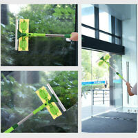 Professional Window Cleaning Tool 2 In 1 Squeegee 65 Inches Extension Rod Glass