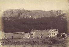 L'Hôtellerie de la Sainte BaumeFrance Vintage albumine ca 1890
