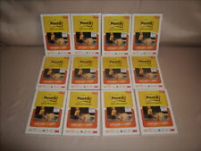 Post-it 4x6 Super Sticky Picture Paper 12 Packs (300 Sheets total) Matte New!