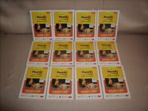 Photo Paper Post-it 4x6 Super Sticky 12 Packs (300 Sheets total) Matte New!