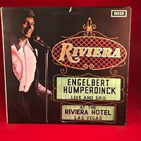 ENGELBERT HUMPERDINCK Live At The Riviera Hotel, Las Vegas UK Vinyl LP EXCELLENT