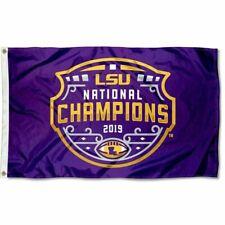 Lsu Tigers Football 3x5 Flag Champs Championship National Champions 2019 2020