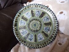 Green Earthenware Decorative Art Pottery