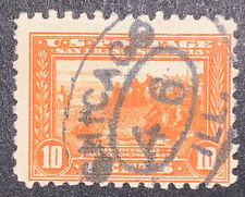 Travelstamps: US STAMPS SCOTT #404 10 Cent Denomination Used NG Chicago Cancel