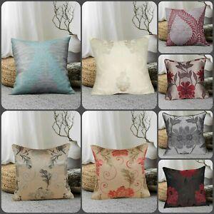 New Modern Jacquard Cushion Covers OR Filled Cushions Small & Large sofa cushion