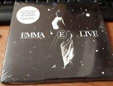 EMMA - E LIVE - CD + DVD DIGIPAK SIGILLATO (SEALED)